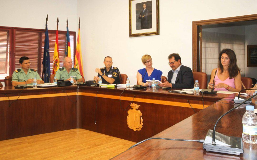La Junta Local de Seguridad coordina el refuerzo del dispositivo de cara a las próximas fiestas