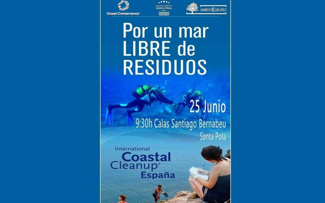 Jornada de Limpieza de Costas, «por un mar libre de residuos»