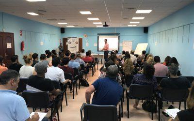 El centro cívico acoge la conferencia 'Ventas sin frenos' para autónomos y pymes organizada por Level UP
