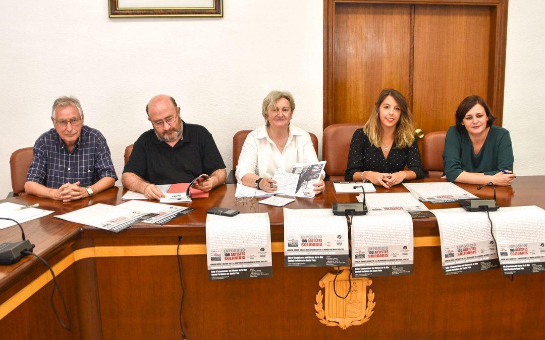 El Museu de la Mar de Santa Pola acollirà l'exposició d'obra gràfica '100 artistes solidaris'