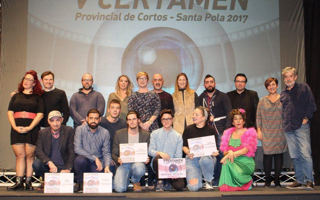 El actor Carlos Iglesias clausura la gala de entrega de premios del certamen provincial de cortos