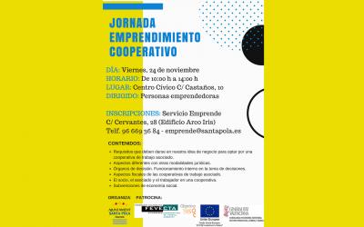Jornada de emprendemiento cooperativo para fomentar el sector de la economía social