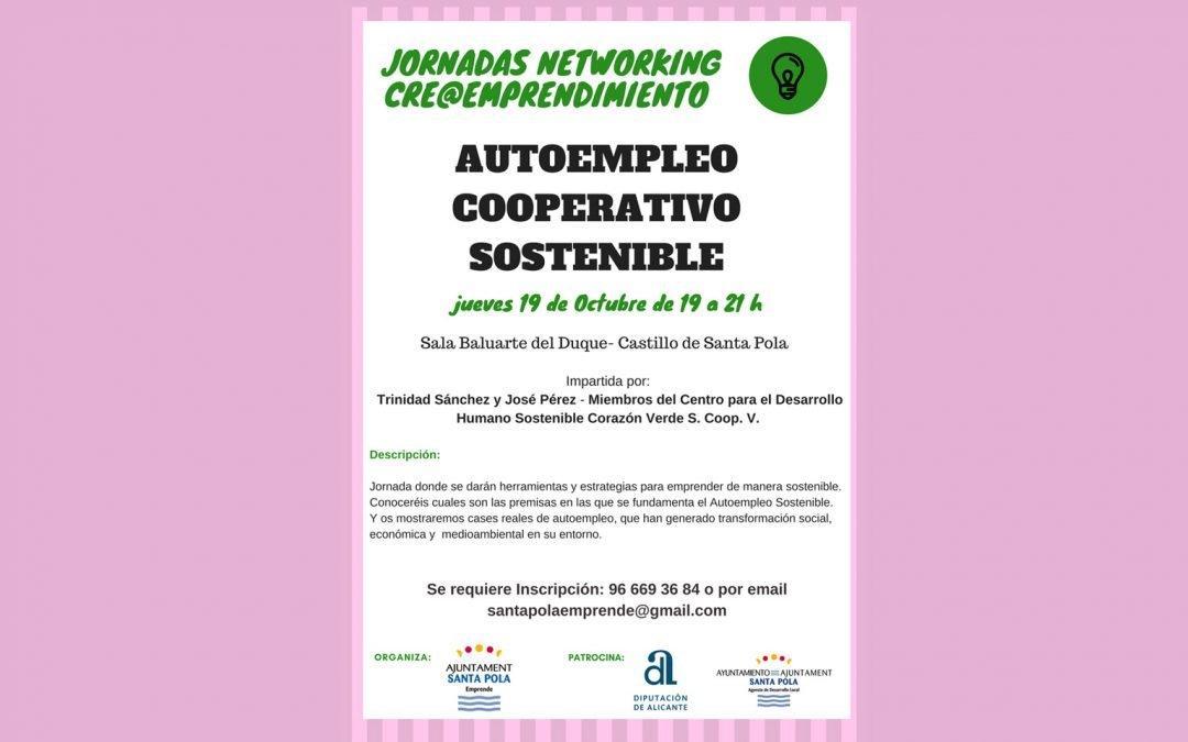 Santa Pola Emprende organiza jornadas de networking durante  todo el mes de octubre