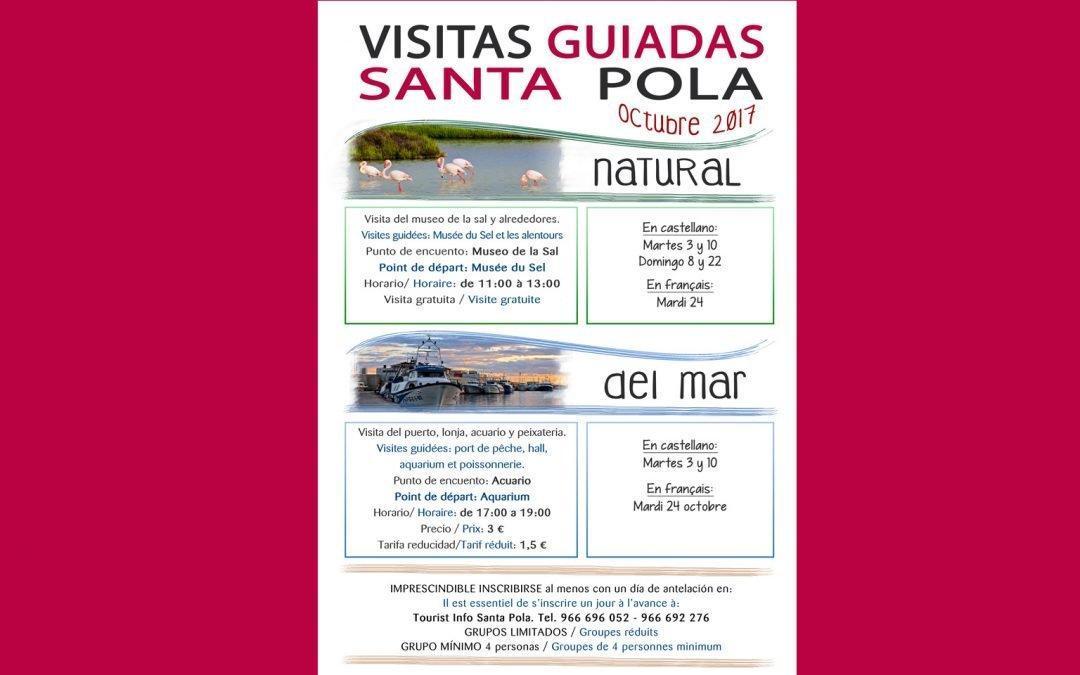 Santa Pola ofrece en octubre visitas guiadas gratuitas al Museo de la Sal y las lagunas del Parque Natural