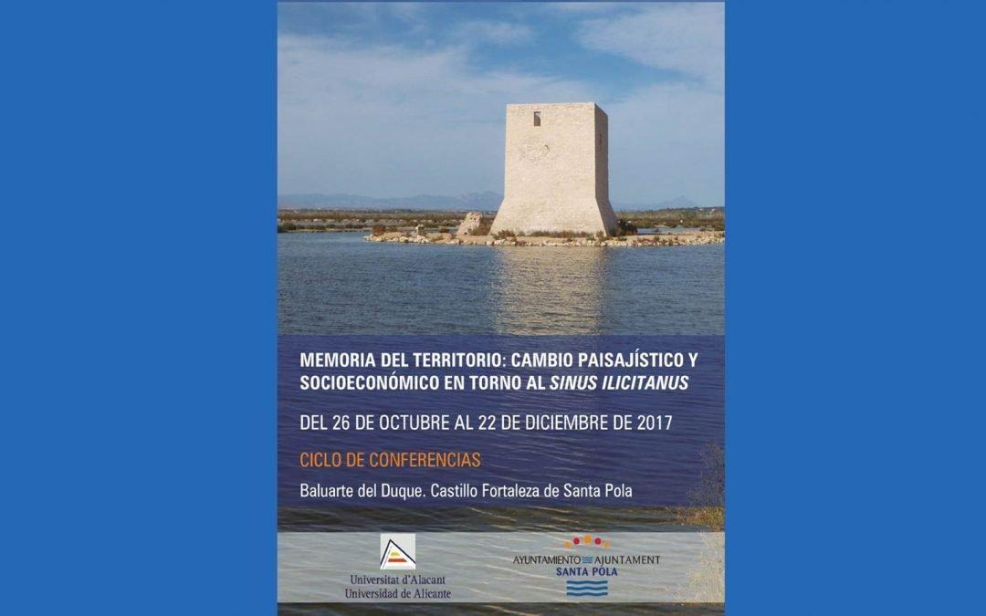 Santa Pola acoge un ciclo de conferencias sobre el cambio paisajístico y socioeconómico