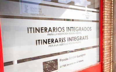 Se inaugura el nuevo local para el desarrollo del programa 'Itinerarios Integrados'