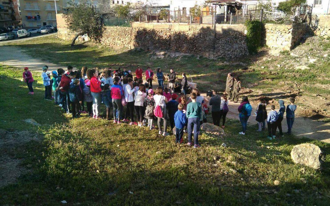 (Castellano) Vuelven las Jornadas Escolares de Repoblación para concienciar sobre los valores ambientales