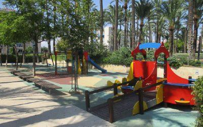 La concejalía de Parques y Jardines anuncia mejoras en los parques públicos de Santa Pola para el 2018
