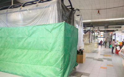 Comercio promueve mejoras y nuevos espacios sociales y culturales en el Mercado Central de Santa Pola