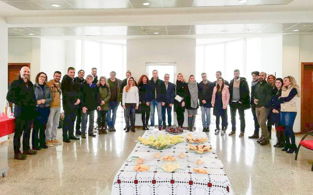 La delegación de Santa Pola viaja a Portugal en el tercer encuentro del proyecto europeo SOLIDA