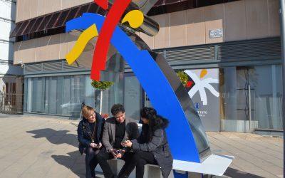 El secretario autonómico de la Agència Valenciana de Turisme inaugura una palmera tecnológica en Santa Pola