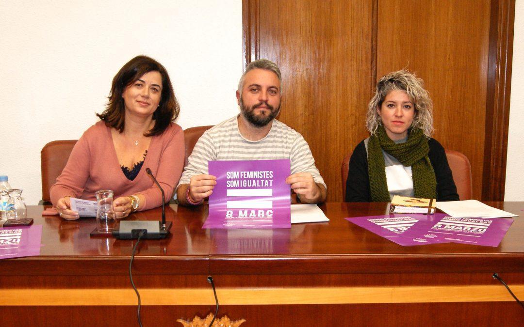 Igualdad presenta la programación del 8 de marzo bajo el lema 'Somos feministas, somos igualdad'