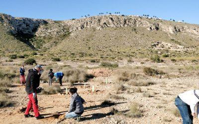 La concejalía de Sostenibilidad organiza una nueva reforestación popular en el Cabo de Santa Pola