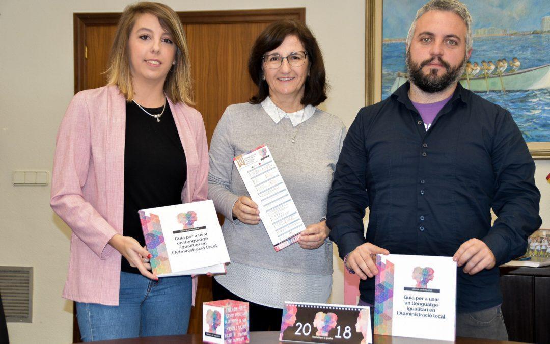 Normalización Lingüística e Igualdad presentan la 'Guia per a usar un llenguatge igualitari en l'administració local'