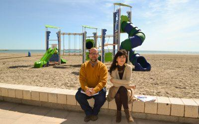 Santa Pola prepara sus playas para Semana Santa con grandes mejoras en puntos accesibles