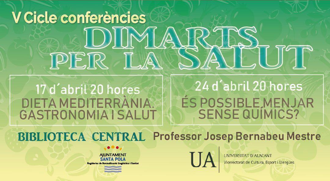 Cultura y Sanidad organizan el ciclo de conferencias en valenciano 'Dimarts per la Salut' en la Biblioteca Central