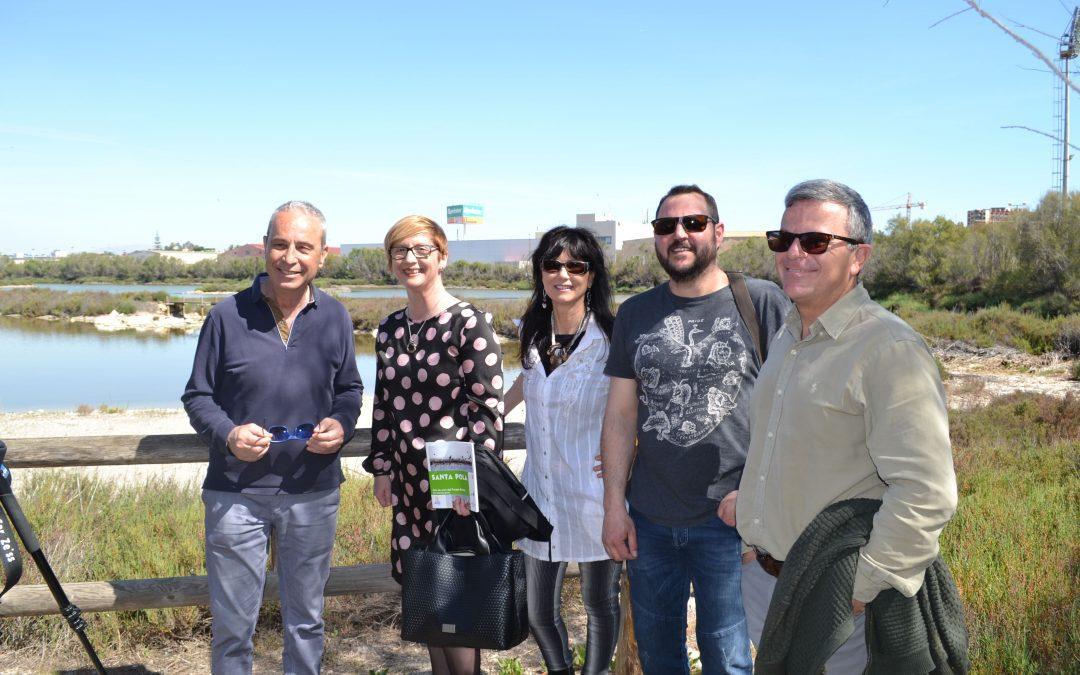El Ayuntamiento y las Salinas unidos para promocionar el 'birdwatching' y presentar futuros proyectos