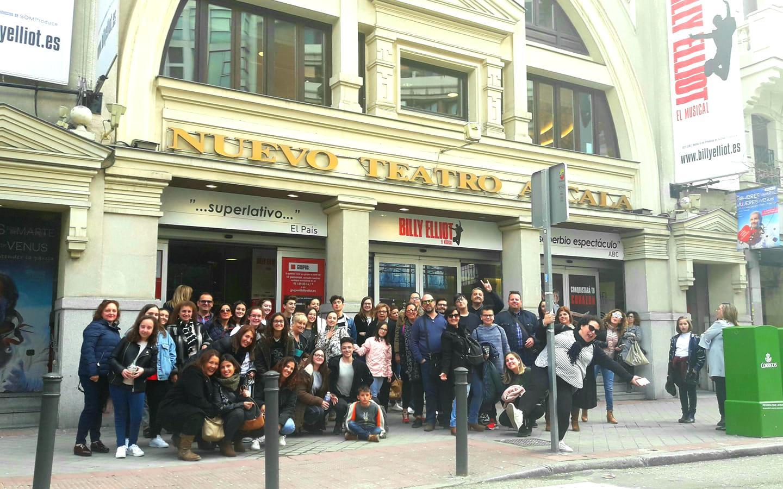 Gran aceptación del viaje cultural a Madrid promovido por el Racó Jove para ver el musical Billy Elliot