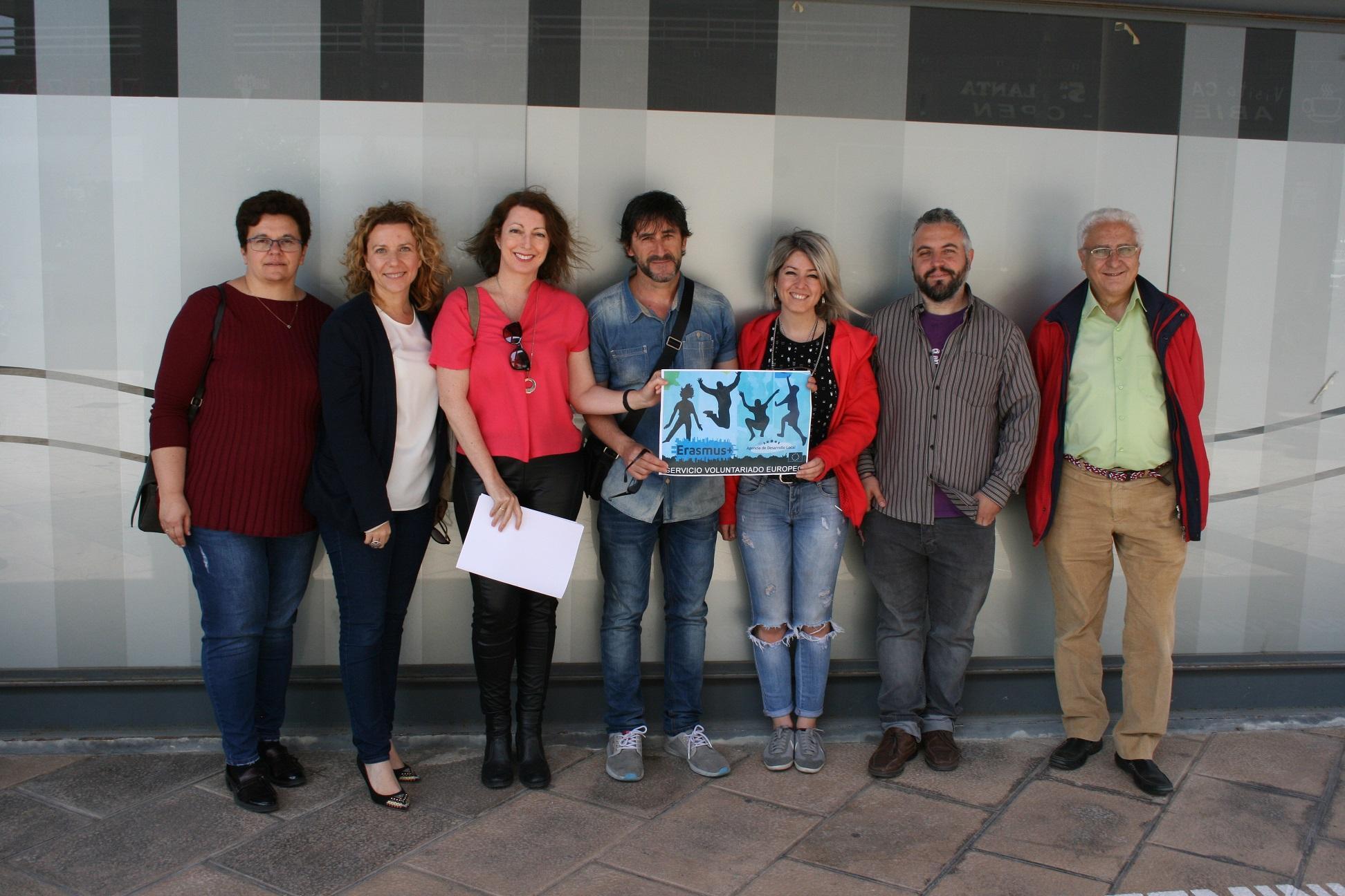 """Santa Pola ya cuenta con un  """"Servicio de Voluntariado Europeo»"""