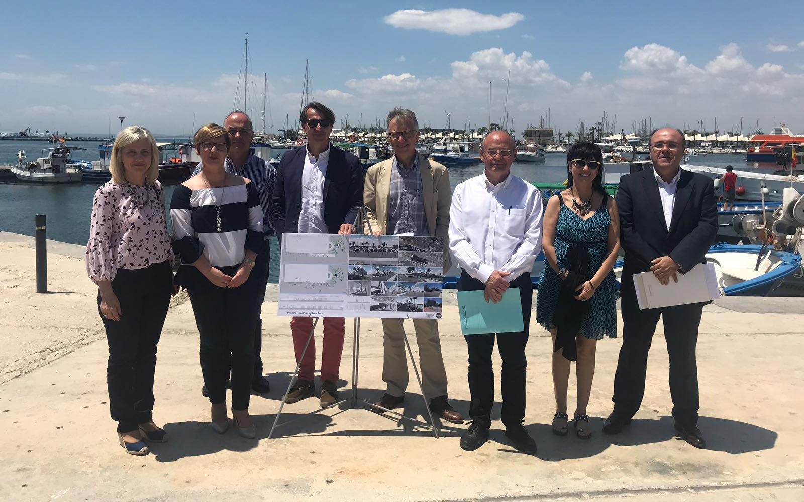 La Consellería de Vivienda, Obras Públicas y Vertebración del Territorio ha constituido el 'Espai Port Ciutat' de Santa Pola