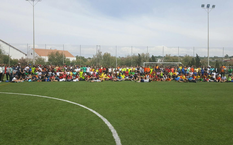 (Castellano) 300 alumnos de Santa Pola participan en la III Jornada Intercentros de Colpbol 2018