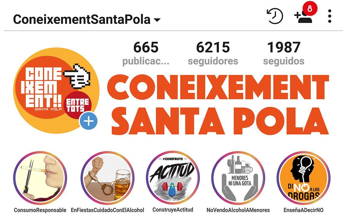 """La campaña """"Coneixement Santa Pola 2018"""" estrena este año el Bebómetro, una actividad que explica cómo medir el consumo de alcohol"""