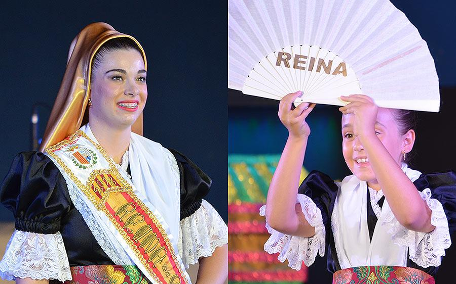 Loreto Canales Rizo es la nueva Reina Mayor de las Fiestas de Santa Pola 2018, y Elena Valero Giménez la Reina Infantil