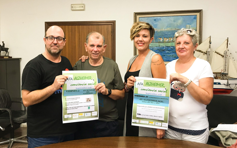 Santa Pola celebra el 21 de septiembre el Día Mundial del Alzheimer con una conferencia gratuita sobre esta enfermedad