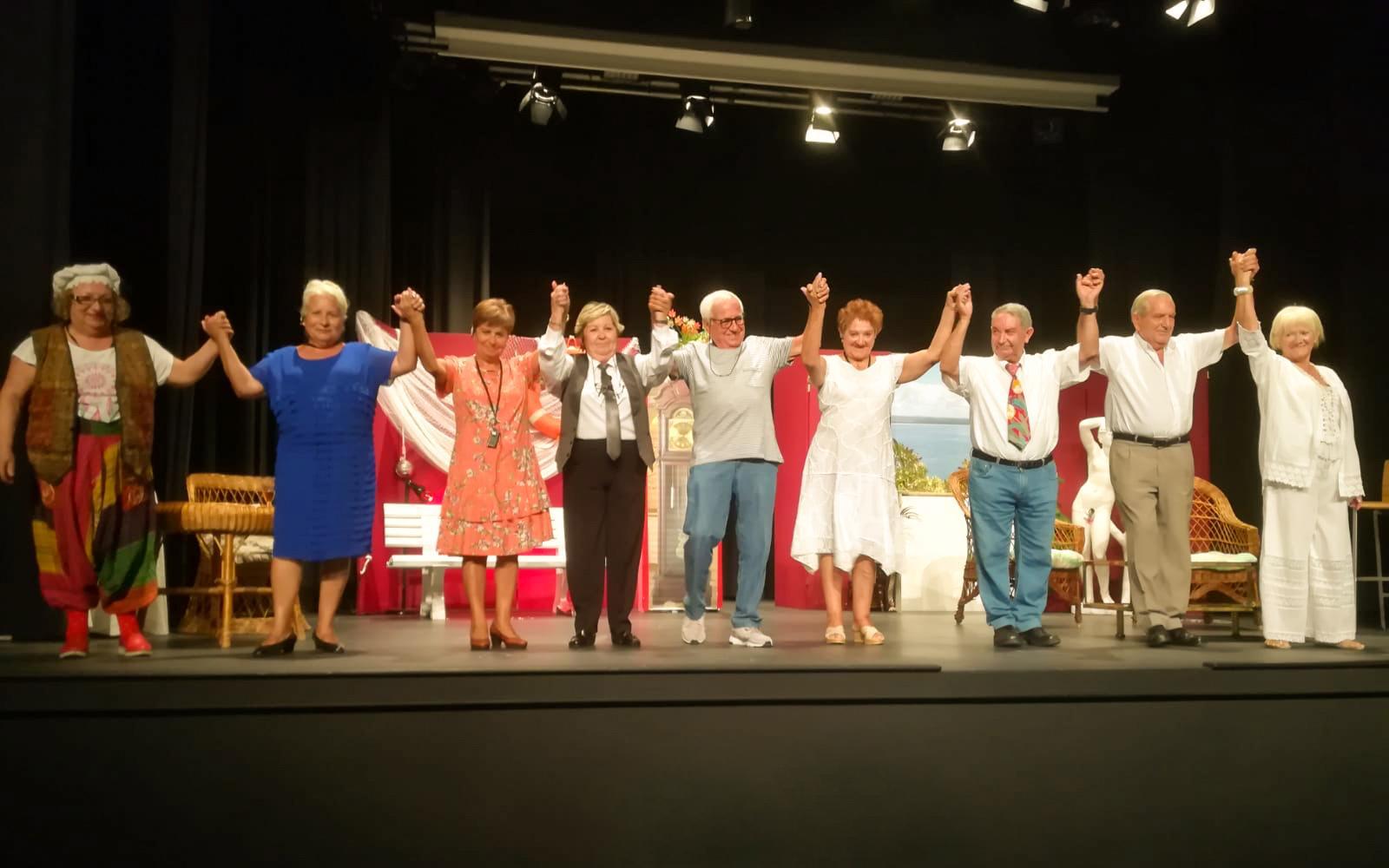Abierta la convocatoria para participar en el segundo Certamen Autonómico de Teatro Mayores en Escena de Santa Pola