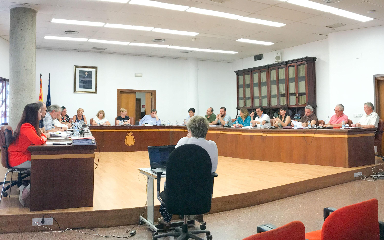 El Presupuesto General para 2018 se aprueba en el pleno extraordinario del Ayuntamiento de Santa Pola