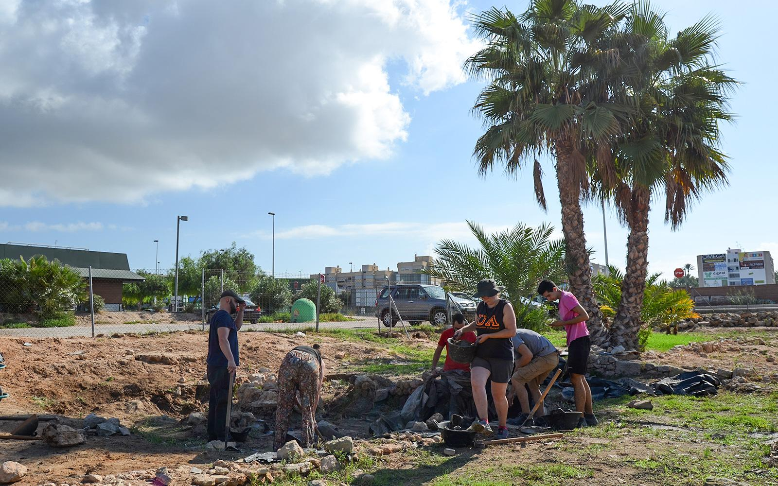 (Castellano) El 6 de noviembre se pasará el georradar por el Portus Ilicitanus, en el área arqueológica de La Picola y zonas aledañas