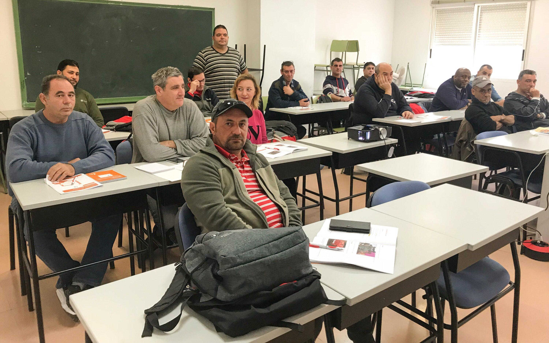 Comienza  el curso de Carretillas Elevadoras con Prevención de Riesgos Laborales del programa Itinerarios Integrados