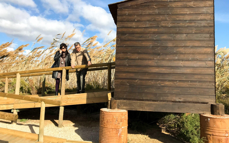 (Castellano) Colaboración entre el Parque Natural de las Salinas de Santa Pola y la Concejalía de Turismo y Playas