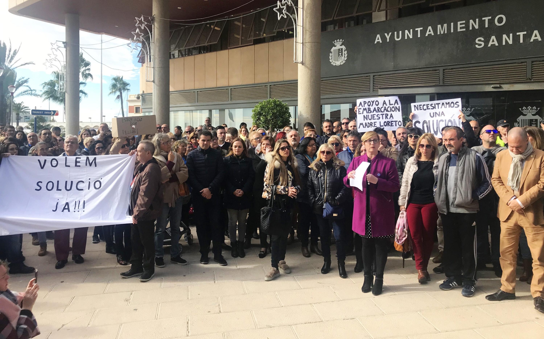 Declaración Institucional del Ayuntamiento de Santa Pola sobre la embarcación Nuestra Madre Loreto