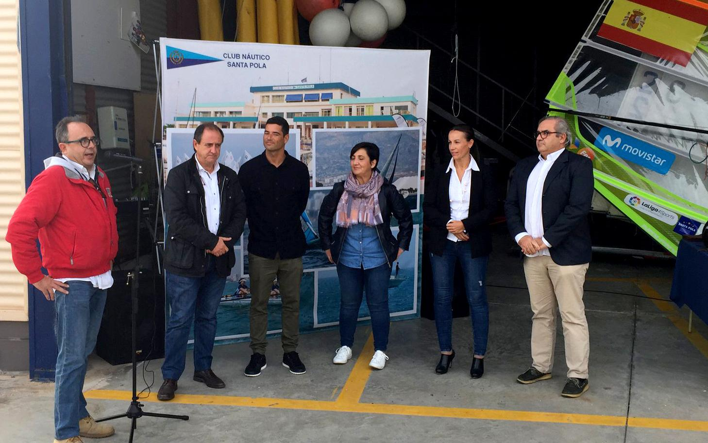 Iván Pastor inaugura el futuro proyecto del Centro de Entrenamiento y Tecnificación de Windsurf en Santa Pola