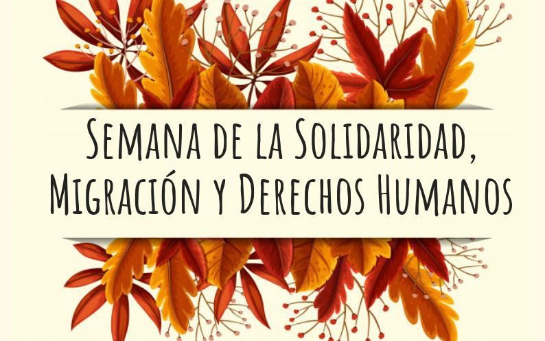 Del 10 al 18 de desembre tindrà lloc la Setmana de la Solidaritat, Migració y Drets Humans a Santa Pola