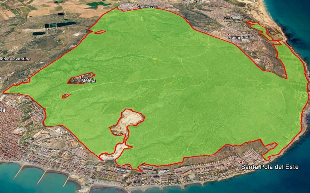 El Paratge Natural Municipal de la Serra y el Cap de Santa Pola molt més a prop de ser una realitat
