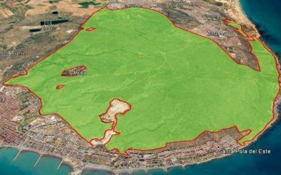 (Castellano) El Paraje Natural Municipal de la Sierra y el Cabo de Santa Pola mucho más cerca de ser una realidad