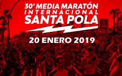 Comunicat de la Policia Local de Santa Pola en relació a la 30 edició de la Mitjana Marató