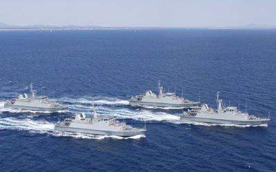 """(Castellano) Santa Pola acoge el 9 y 10 de febrero a los Cazaminas de la Armada Española """"Sella"""", """"Tambre"""" y """"Duero"""""""