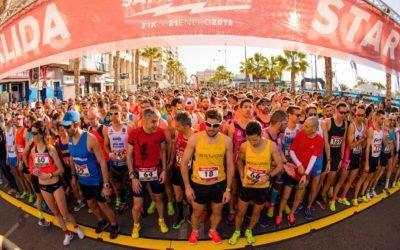 El Ayuntamiento de Santa Pola se prepara para la 30 edición de la Media Maratón, que tendrá lugar el 20 de enero
