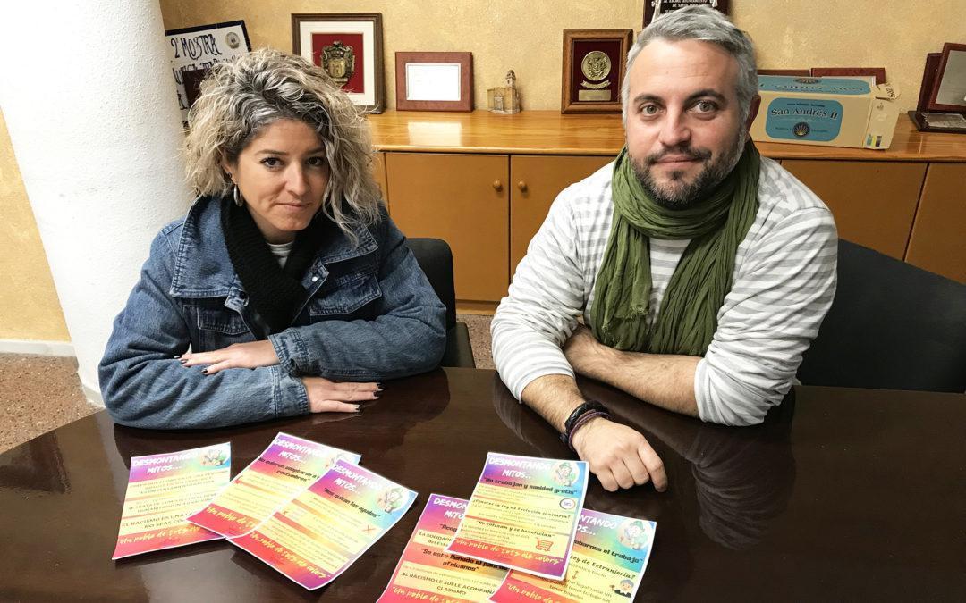 La Concejalía de Migraciones y Solidaridad desmonta mitos en una campaña contra el racismo y la intolerancia