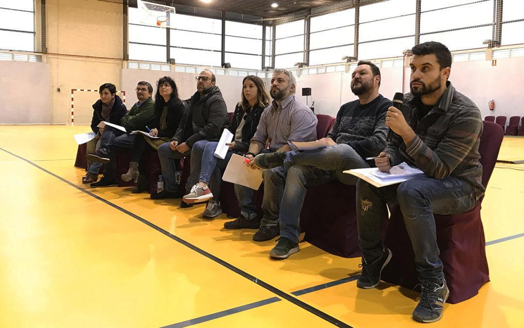 Gran Alacant acogió ayer la primera Asamblea de Consejos Locales celebrada en Santa Pola