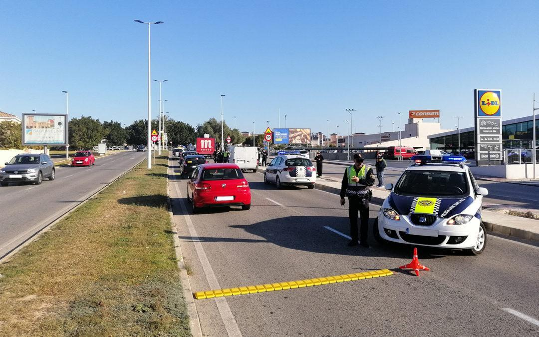 La Policía Local de Santa Pola realiza un dispositivo de Seguridad Ciudadana en Gran Alacant