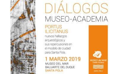 (Castellano) Primer encuentro Museo-Academia: Una cita con el patrimonio Histórico-Arqueológico de la villa de Santa Pola