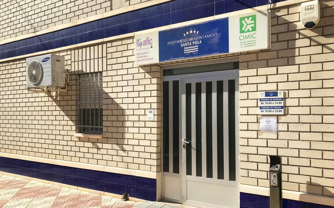 (Castellano) La Oficina Municipal de Información al Consumidor de Santa Pola ha atendido en 2018 un total de 2.373 consultas y 939 reclamaciones