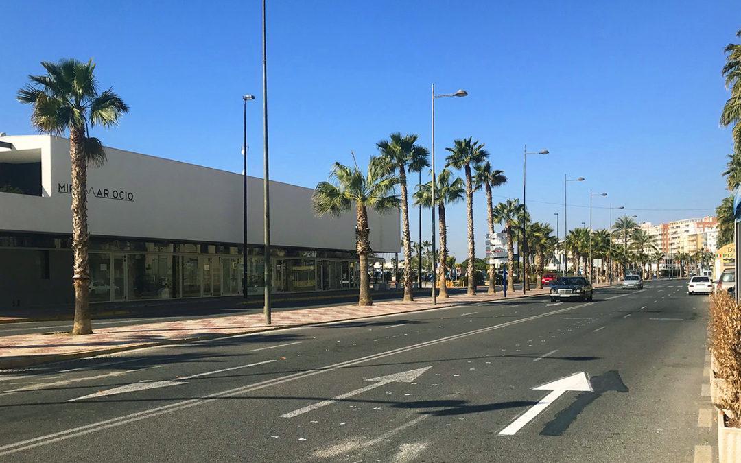 L'Avinguda Fernando Pérez Ojeda tindrá un carril per a cada sentit i quasi 80 places d'aparcament en bateria