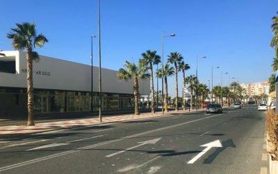 (Castellano) La Avenida Fernando Pérez Ojeda tendrá un carril para cada sentido y casi 80 plazas de aparcamiento en batería