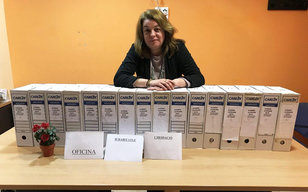 L'Oficina de Habitatge i Mediació de Santa Pola ha tramitat 143 sol·licitudes per a les ajudes al lloguer