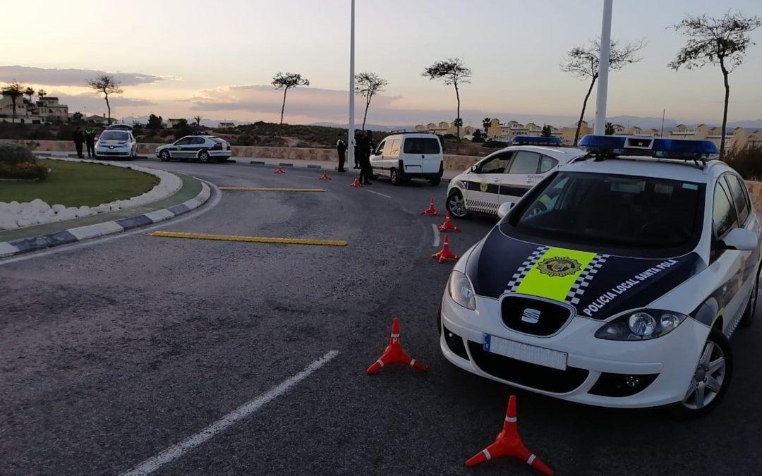(Castellano) La Policía Local de Santa Pola continúa reforzando la vigilancia en la zona de Gran Alacant